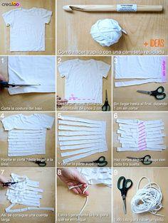 Crochet Eggs - DIY Como tejer escarpines, merceditas, guillerminas a crochet - DIY - Knitting Crochet Diy, Crochet T Shirts, Crochet Crafts, Yarn Crafts, Fabric Crafts, Diy Crafts, Irish Crochet, Plastic Bag Crafts, Crochet Ornaments