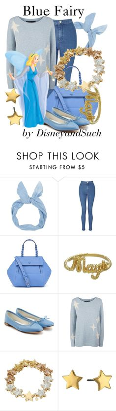 """""""Blue Fairy"""" by disneyandsuch ❤ liked on Polyvore featuring Miss Selfridge, Tory Burch, Zoe & Morgan, Repetto, 360 Sweater, Betsey Johnson, Rebecca Minkoff, disney, disneybound and Pinocchio"""
