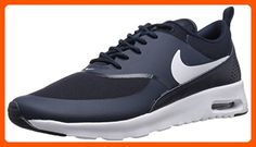 Nike Women's Air Max Thea Obsidian/White Running Shoe 6.5 Women US - All about women (*Amazon Partner-Link)