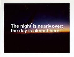 the night...