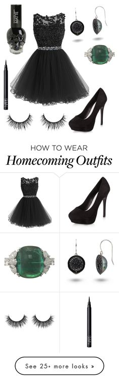 """""""Untitled #926"""" by mjvm on Polyvore featuring New Look and NARS Cosmetics"""