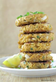 A quick, easy, and budget-friendly recipe for tuna patties that are crunchy on the outside, tender on the inside, and bursting with tons of flavor from simple ingredients like onion, mustard, spices, and fresh lemon.