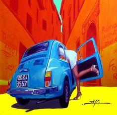 Ilustracion Fiat500