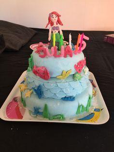 Julias 5 års tårta