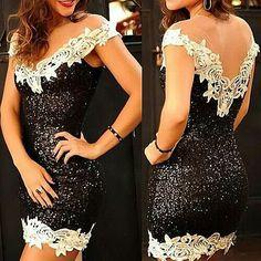 Sexy blk dress