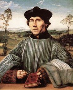 Portrait d'Erasme par Quentin Massys, 1517