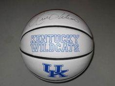 Rick Pitino Kentucky Wildcats Signed Logo Basketball #SportsMemorabilia #KentuckyWildcats