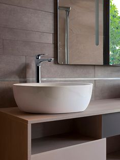 Lavabo DELFOS Ambiance en Zenth #washbasin #faucet #bathroom #design #ideas