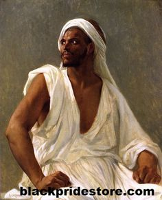 Portrait Of An Arab by Alexandre Cabanel   arab Cabanel