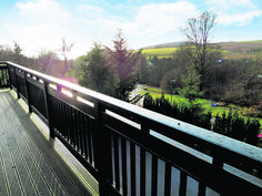 Lovely balcony to enjoy some stunning views from