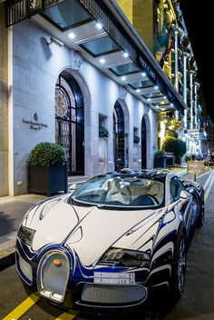 Recommended by http://koslopolis.com - Launched July 2015 - http://yrt.bigcartel.com Bugatti Veyron L'Or Blanc Now this is nice.