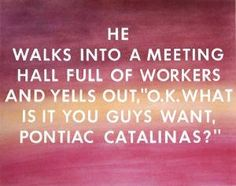 Pontiac Catalinas by Edward Ruscha