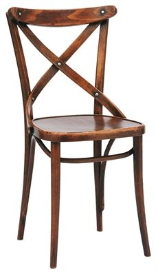 No 150 eller Nr 150 från Ton med träsits där flera olika färger finns. Denna stol kan även väljas med klädd sits.