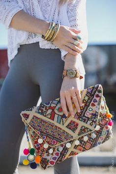 9050555963 indian mirror work hippie vintage banjara bags Boho Clutch, Boho Bags,  Bohemian Bag,
