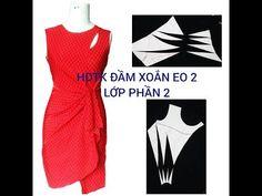 Sewing Hacks, Sewing Tutorials, Sewing Online, Draped Dress, Dress Sewing Patterns, Fashion Sewing, Coat Dress, Pattern Fashion, Diy Clothes