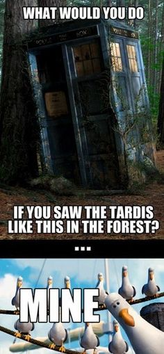 I would get inside or wait next to it. Although, if it was in that condition, I would assume the Doctor died or it wasn't the TARDIS