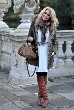 Love this outfit for winter & love this site