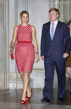 Dutch Queen Maxima and King Willem-Alexander