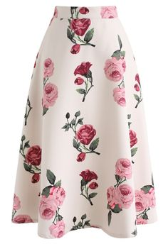 - Floral pattern - Concealed back zip closure - Lined - Polyester - Hand wash cold Size Length Waist XS cm 73 65 inch S cm 73 69 inch 27 M cm 73 74 inch 29 L cm 73 81 inch 32 XL cm 73 86 inch 34 XXL cm 73 90 inch * Our model is 173 tall and wearing size S Unique Fashion, Look Fashion, Fashion Tips, Printed Maxi Skirts, Pleated Midi Skirt, Chiffon Maxi, Cute Skirts, A Line Skirts, Indie