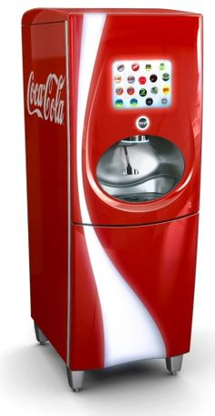 100+ drink choices from a touch screen soda fountain. I've found love. http://www.coca-colafreestyle.com/