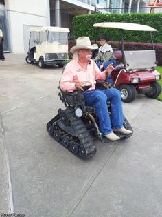 Redneck wheelchair my husband will own this one day