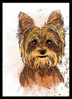 Yorkshire Terrier - Dog in Art