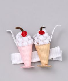 Take a look at this Pink Malt Clip by Buttercream Babe on #zulily today!