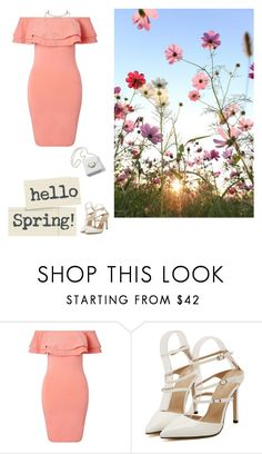 """""""Spring"""" by nene55 ❤ liked on Polyvore featuring Miss Selfridge"""