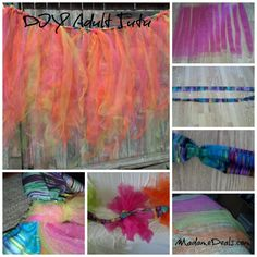 How to Make an Adult Tutu - because EVERY grownup needs their own tutu!! :)