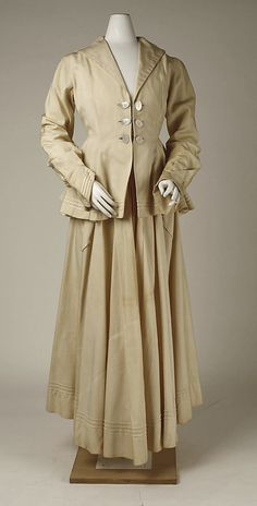 Cotton suit 1915-16