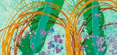 Detail of the Twingenuity Print from Chihuly Workshop.