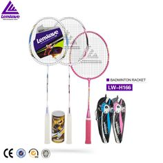 Lenwave brand family pack 3 pcs sainted badminton racket at the best price