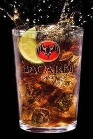 bacardi Bacardi, Rum, Shot Glass, Tableware, Dinnerware, Tablewares, Bacardi Cocktail, Rome, Dishes
