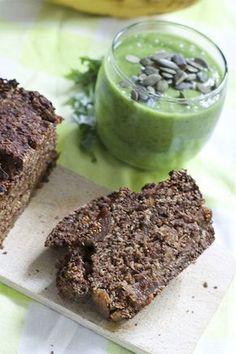 Glutenvrij en tarwevrij havermoutbrood met vijgen| Bioteaful