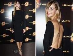 Jennifer Lawrence in Tom Ford - The Hunger Games premiere in Paris