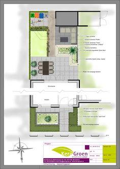 Modern Backyard, Backyard Landscaping, Wisteria Sinensis, Garden Design Plans, Garden Seating, Landscape Design, Floor Plans, How To Plan, Plants