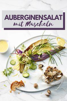 Aromatischer Salat mit Muscheln und einer feinen Orangen-Safran-Dressing - die perfekte Grill-Beilage
