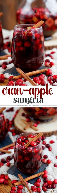 Cran-Apple Sangria - JenniferMeyering.com