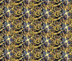 Exploding Tardis fabric by id_designs on Spoonflower - custom fabric