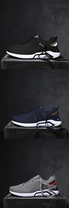 US $27.52 <Click to buy> Prikol Luxury Brand Men Sport Shoes Breathable Sneakers Athletic Leather Tennis Shoes Fitness Light Soft Cool Outdoor Walking