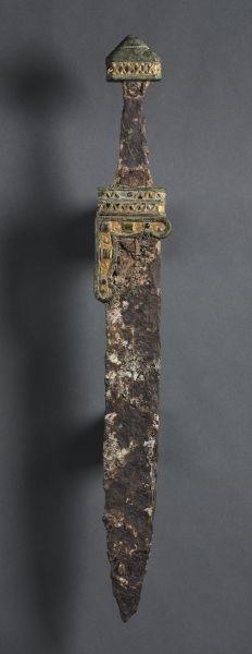 Single-Edged Knife (Scramasax), c. 500-700 Merovingian, Migration period, 6th-7th Century