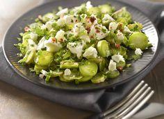 Salade d'asperges #DanOn #recette 20 Min, Sprouts, Good Food, Vegetables, Asparagus, Salads, Fun Recipes, Cooker Recipes, Veggies