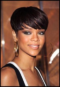 black women fashion | black women 2012 with bangs one of the short haircuts for black women ...