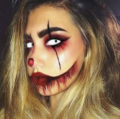 No problem. These Halloween makeup ideas are all you need to pull of… No costume? No problem. These Halloween makeup ideas are all you need to pull off the ultimate last-minute costume Halloween Inspo, Last Minute Halloween Costumes, Halloween Makeup Looks, Halloween Halloween, Haloween Makeup, Halloween Carnival, Halloween Season, Male Makeup, Scary Makeup