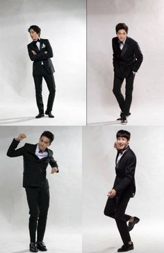 Nichkhun, Yonghwa, Baro, L, and Song Min Ho(Mino) pose as Lucky Boys (Super for 'SBS Gayo Daejun' + video teaser Song Mino, Asian Love, Male Poses, Japanese Artists, Drawing People, Men Looks, Korean Drama, Teaser, Pretty People