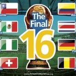 Here we are sharing with you The Final 16 Teams Matches Schedule of 2014 FIFA World Cup. The first match of the Round of 16 Stage or Second Stage of 2014 FIFA World Cup will be played tomorrow on 28th June at Estadio Mineirao Belo Horizonte in between the...