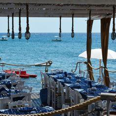 Cartoline dal Salento : ristorante sul mare - Santa Maria di Leuca