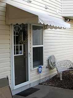 Front door awning in Raleigh, NC | Home Sweet Home | Pinterest ...