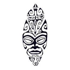 Tatuagem maori de tiki adormecido - Tatua-me assim - Encontra a tua tatuagen online!