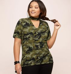 978735cb4b7 Plus size fashion clothing including tops